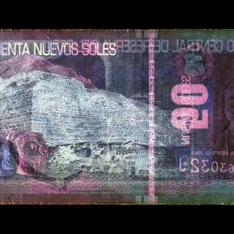 Negative Currency: 50 Pen, used as negative