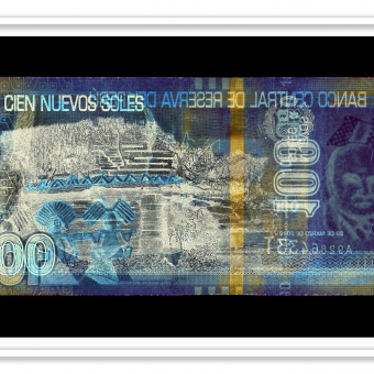 Negative Currency: 100 Pen, used as negative