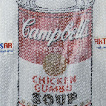 Handle with Care (Soup Can, Pepper pot)
